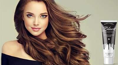 Шампунь Black Sensation для волос.